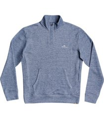 waterman ocean nights men's half-zip mock neck fleece sweatshirt
