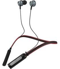 audifonos langsdom l9 bluetooth microfono deportivos rojo