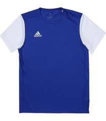 camiseta azul royal-blanco adidas performance estro 19 jsy boblue