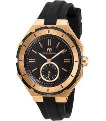 reloj negro technomarine tm-118010 - superbrands
