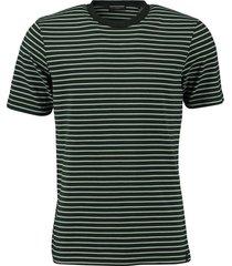 t-shirt gestreept groen