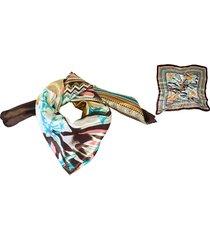 pañuelo marrón almacén de paris