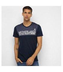 camiseta all free netherlands masculina
