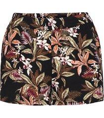 onlnova lux shorts aop wvn 7 shorts flowy shorts/casual shorts svart only