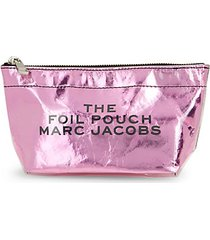 long foil cosmetic pouch