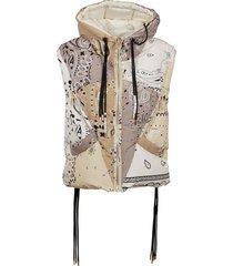 khrisjoy puff bandana vest
