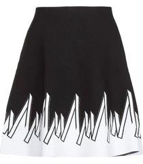 d.exterior viscose skirt