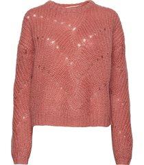 una gebreide trui rood custommade