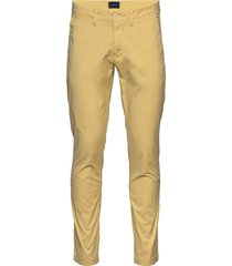 d2. slim sunfaded chino chinos byxor gul gant
