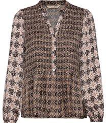 alison blouse blouse lange mouwen roze odd molly