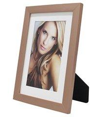 porta retrato com paspatur insta 15x21cm cobre