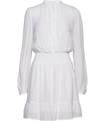 clip dots jqd dress jurk knielengte wit michael kors