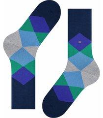 burlington socks clyde socks - purple/green | 20942-6125