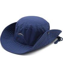 cappello pieghevole per pescatore regolabile da uomo estivo pieghevole da sole