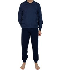 schiesser pyjama print met boord