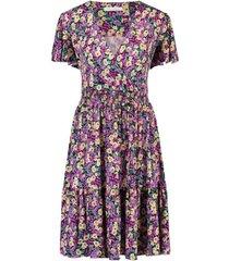 jurk met bloemenprint adalyn  paars