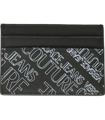 versace jeans couture card holder with logo