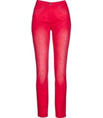 pantaloni elasticizzati con strass (rosso) - bpc selection