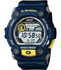 reloj g shock g_7900_2 azul resina hombre