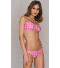 na-kd swimwear bikini panty - pink