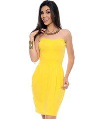vestido b bonnie melissa amarelo