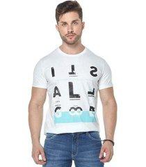 camiseta osmoze 22 110112790 branco pp - masculino