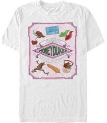 fifth sun men's honey dukes short sleeve crew t-shirt