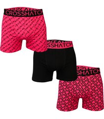 mens 3 pack gleason boxer shorts