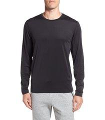 men's cutter & buck enforce base layer t-shirt, size xxx-large - black