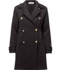 marina coat yllerock rock svart busnel