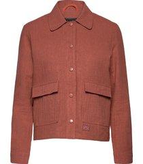 sissel linen sommarjacka tunn jacka rosa brixtol textiles