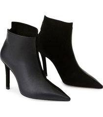 women's lafayette 148 new york rivoli bootie, size 8.5us - black