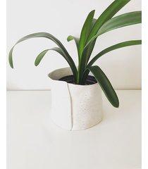 osłonka / doniczka ceramiczna jacket
