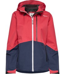 shell jkt w outerwear sport jackets röd craft