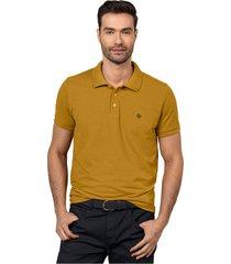 masculino exterior camiseta amarillo leonisa m2806