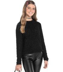 casaco juvenil rovitex teen preto - preto - menina - dafiti