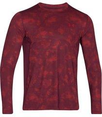 suéter under armour raid para hombre - bordó
