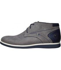 zapato madrid high gris karosso