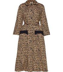 anny jurk knielengte bruin baum und pferdgarten