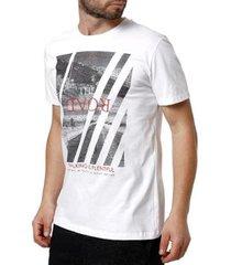 camiseta habana manga curta masculina