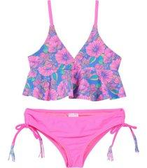 bikini triangulo vuelo basta fucsia h2o wear