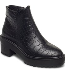 vmmelba boot shoes boots ankle boots ankle boot - heel svart vero moda