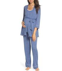 women's belabumbum maternity/nursing robe & pajamas
