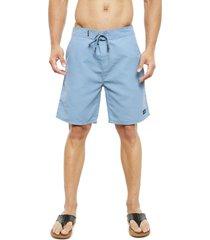 traje de baño oakley azul - calce regular