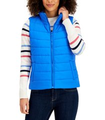 style & co puffer vest, created for macy's