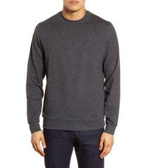 men's vuori ponto performance crew pullover, size medium - grey