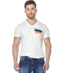 camiseta osmoze 03 gola v 110112771 branco
