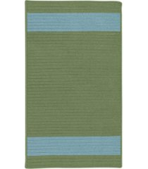 colonial mills aurora moss blue 2' x 4' accent rug bedding