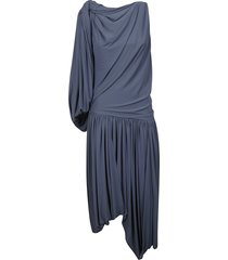 j.w. anderson one sleeve draped dress