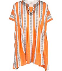 lemlem amira beach dress - orange